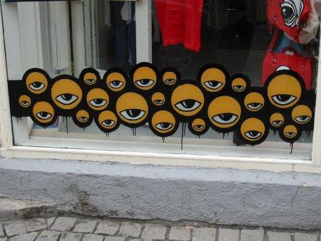 eyes in Reykjavik