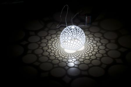 stereographic lamp